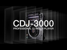 Load and play video in Gallery viewer, Pioneer CDJ-3000 Professional DJ Multi Player, Black