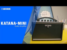 Load and play video in Gallery viewer, Boss KTN-MINI Katana Mini Battery Powered Combo Guitar Amplifier
