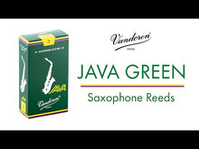 Load and play video in Gallery viewer, Vandoren SR263 Java Alto Sax Reeds - Strength 3 (Box of 10)