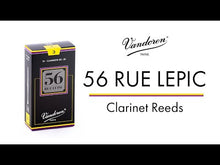 Load and play video in Gallery viewer, Vandoren CR503 56 rue Lepic Bb Clarinet Reeds - Strength 3 (Box of 10)