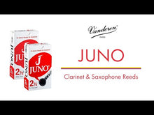 Load and play video in Gallery viewer, Vandoren JSR8125/3 Juno Bari Sax Reeds - Strength 2.5 (3-Pack)