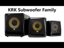 "Load and play video in Gallery viewer, KRK KRK10S2-NA 10"" STUDIO SUBWF 120V"