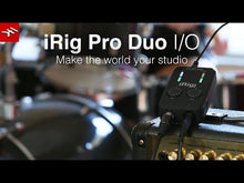 Load and play video in Gallery viewer, IK Multimedia IRIG-PRODUO-IO iRig Pro Duo I/O 2-channel Audio/MIDI Interface
