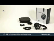 Load and play video in Gallery viewer, Audio-technica ATH-M70X Closed-back Studio Headphone