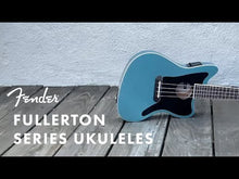 Load and play video in Gallery viewer, Fender 097-1653-013 Fullerton Jazzmaster Concert Ukulele, Tidepool