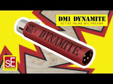Load and play video in Gallery viewer, sE Electronics DM1-MIC-PRE Dynamite Active Inline Mic Pre