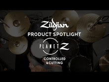 "Load and play video in Gallery viewer, Zildjian ZP1418 Planet Z Fundamentals Cymbal Pack (14"" Hats, 18"" Crash Ride)"