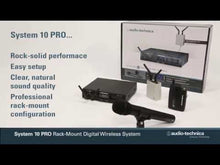 Load and play video in Gallery viewer, Audio-technica ATW-1302 System 10 PRO Handheld Digital Wireless System