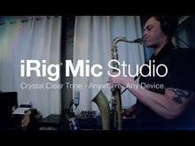 Load and play video in Gallery viewer, IK Multimedia IP-IRIG-MICSB-N iRig Mic Studio Condenser USB Mic for Mobile and Laptops