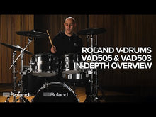 Load and play video in Gallery viewer, Roland VAD506 Acoustic Design Electronic Kit, Midnight Sparkle Wrap