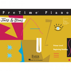 Hal Leonard HL00420156 PreTime Piano - Primer Level - Jazz n Blues