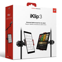Load image into Gallery viewer, IK Multimedia IP-IKLIP-3-IN iKlip 3 iPad Music Stand mount for iPad and Tablets