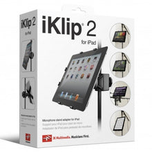 Load image into Gallery viewer, IK Multimedia IP-IKLIP2-IPD-N iKlip 2 iPad Music Stand Adaptor