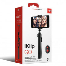 Load image into Gallery viewer, IK Multimedia IKLIP-GO iKlip Go Compact Selfie Stick