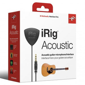 IK Multimedia IP-IRIG-ACOU-IN iRig Acoustic Microphone/Interface for iOS devices