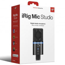 Load image into Gallery viewer, IK Multimedia IP-IRIG-MICSB-N iRig Mic Studio Condenser USB Mic for Mobile and Laptops