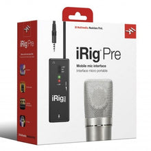 Load image into Gallery viewer, IK Multimedia IP-IRIG-PRE-IN iRig Pre Microphone Preamp for iOS devices