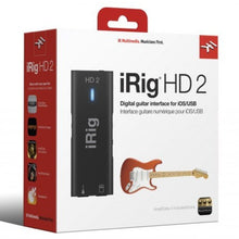 Load image into Gallery viewer, IK Multimedia IP-IRIG-HD2-IN iRig HD 2 Studio-Quality Guitar Interface for iOS and Mac