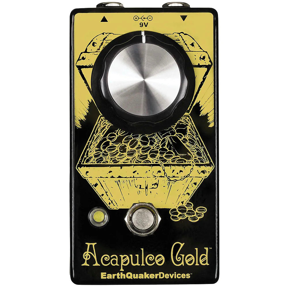 Earthquaker ALCOPOCOGOLD Power Amp Distortion v2 Effects Pedal
