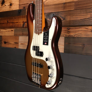 Fender 019-9010-732 American Ultra P-Bass Guitar, Mocha Burst (#US19078406)