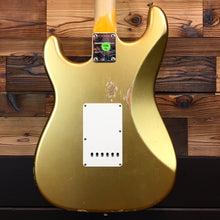 Load image into Gallery viewer, Fender 923-1011-590 Custom Shop 1964 Strat Relic, Faded Aged Shoreline Gold