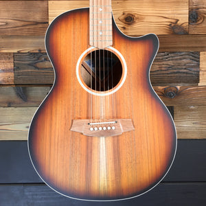 Cole Clark CCAN2ECBLBLSUN ANGEL 2 EC Australian Blackwood Acoustic-Electric Guitar (#2119118020)