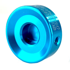 "Barefoot Button 17-V1-ST-BL Pedal Button V1 3/8"", Light Blue"