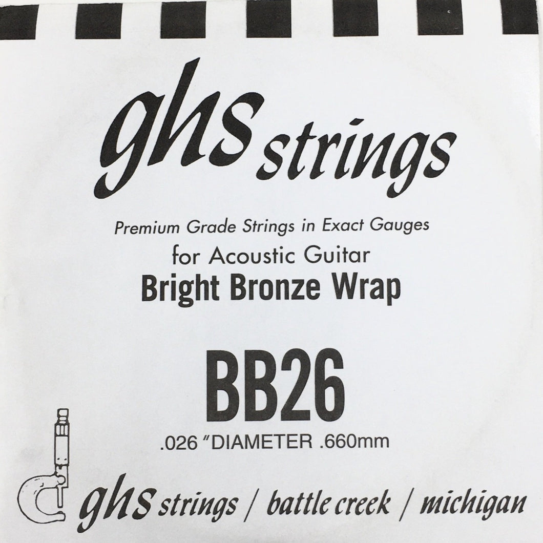 Ghs BB26 Acoustic 26 Single