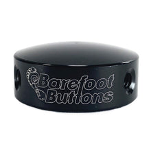 "Load image into Gallery viewer, Barefoot Button 17-V1-ST-BK Pedal Button V1 3/8"", Black"