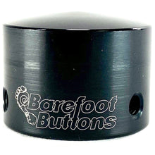 "Load image into Gallery viewer, Barefoot Button 17-V1-TB-BK Tall Boy Pedal Button V1 3/8"", Black"