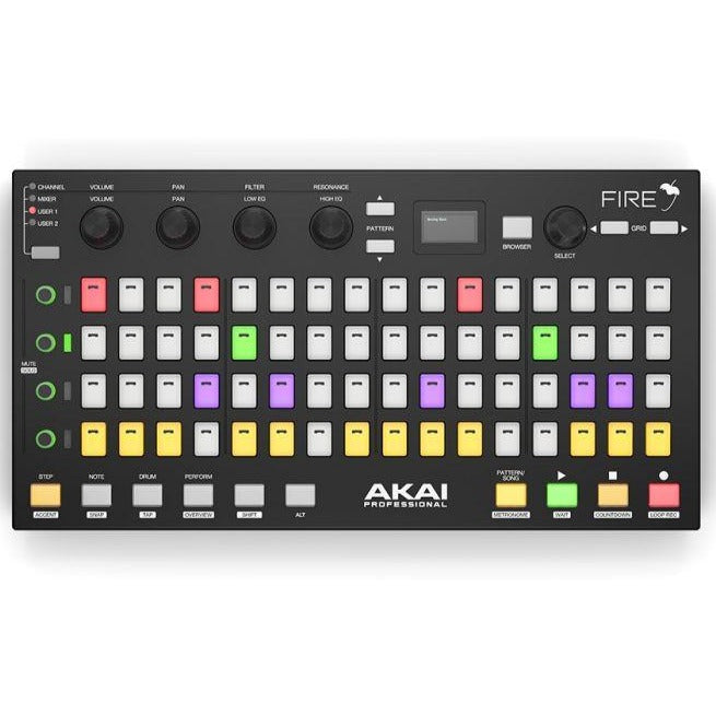 Akai FIRE Performance Controller for FL Studio + FL Studio 20 Software