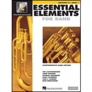 Hal Leonard HL00862578 Essential Elements Book1 with EEI - Baritone BC