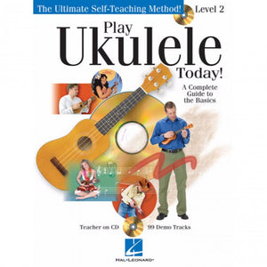 Hal Leonard HL00701002 Play Ukulele Method 2 with  cd