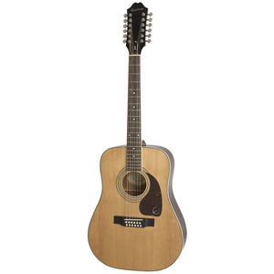 Epiphone EA2TNACH1 DR-212 Dreadnought 12-string Acoustic Guitar, Natural