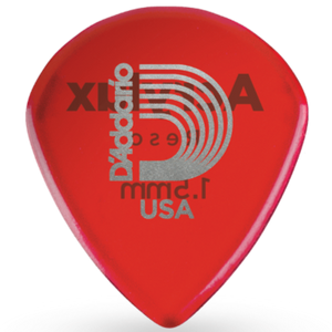 D'addario 3AR7-03 Acrylux Reso Jazz Guitar Pick 1.5MM, 3-pack