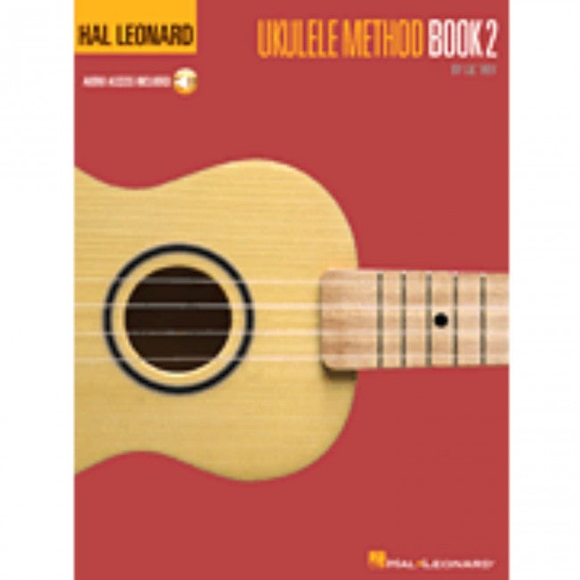 Hal Leonard HL00695949 Ukulele Method Book 2 with  cd