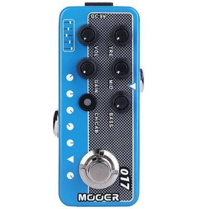 Mooer MICROPRE-017 Micro Preamp 017, based on Mesa Boogie MKIV