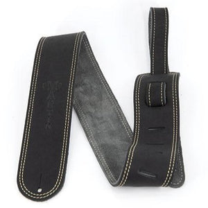 Martin 18A0013 Genuine Leather Martin Guitar Strap, Black