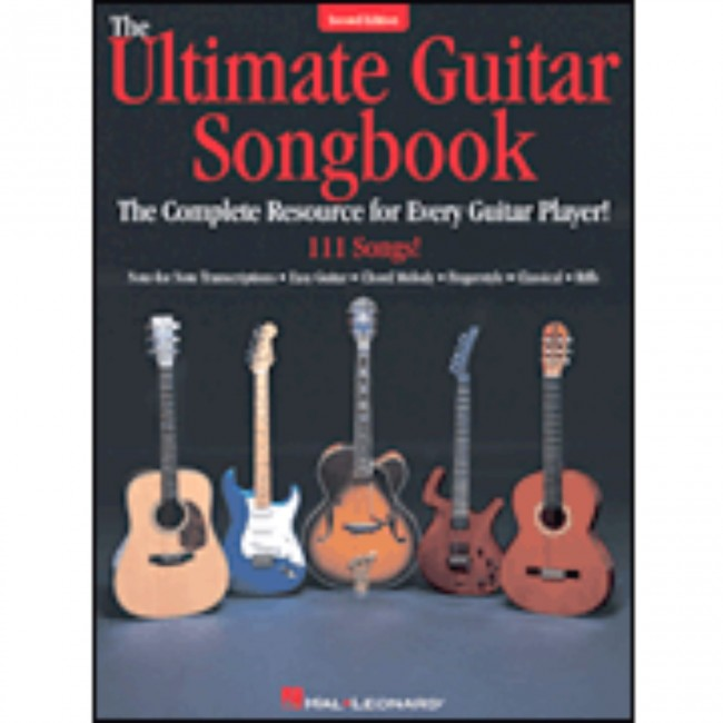 Hal Leonard HL00699909 The Ultimate Guitar Songbook – Second Edition