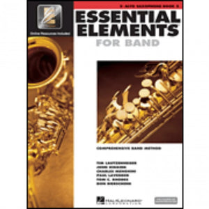 Hal Leonard HL00862594 Essential Elements Book 2 with EEI - Alto Saxophone