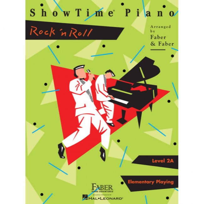 Hal Leonard HL00420329 ShowTime Piano - Level 2A - Rock n Roll