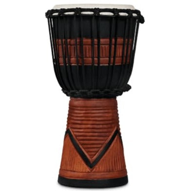 LP LP713SB LP World Beat Djembe Art Small, Black