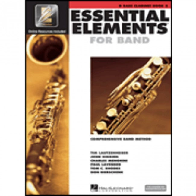 Hal Leonard HL00862593 Essential Elements Book 2 with EEI - Bass Clarinet