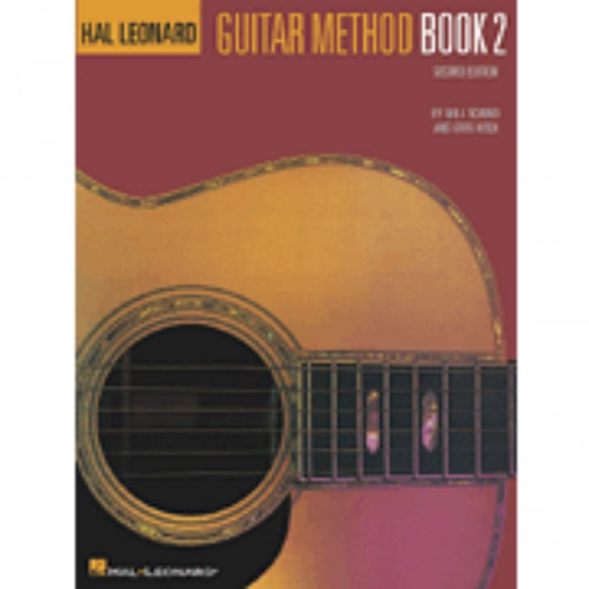 Hal Leonard HL00699020 Guitar Method Book 2