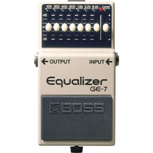 Load image into Gallery viewer, Boss GE-7 Graphic EQ Pedal