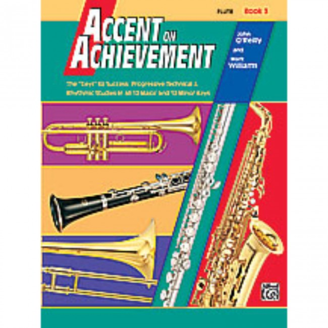 Alfred A-18056 Accent on Achievement Book 3 - Clarinet