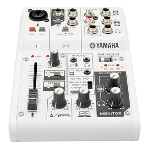 Yamaha AG03 3-Channel Mixer/USB Audio Interface