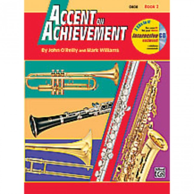 Alfred A-18258 Accent on Achievement Book 2 - Clarinet