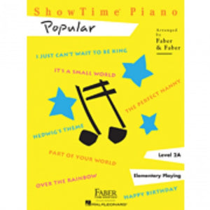 Hal Leonard HL00420152 ShowTime Piano - Level 2A - Popular