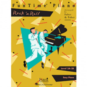 Hal Leonard HL00420132 FunTime Piano - Level 3A-3B - Rock n Roll